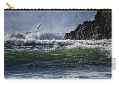 Whales Head Beach Southern Oregon Coast Carry-all Pouch by Diane Schuster