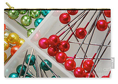 Carry-all Pouch featuring the digital art What A Buncha Pinheads by Margie Chapman