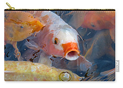 What A Crowd Carry-all Pouch by Laurel Powell