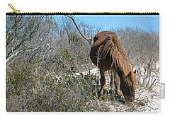 Carry-all Pouch featuring the photograph What Do I See Here? by Photographic Arts And Design Studio