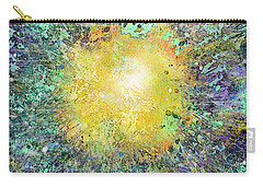 What Kind Of Sun Vii Carry-all Pouch by Carol Jacobs
