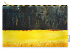 Wheat Field 1 Carry-all Pouch by Carlin Blahnik