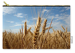 Wheat Field In A Sunny Summer Day Carry-all Pouch by Vlad Baciu