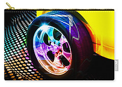 Vintage Car Carry-all Pouch featuring the photograph Wheeled by Aaron Berg