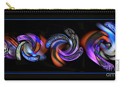 Wheels In Motion Carry-all Pouch by Sue Stefanowicz