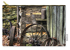 Wheels Of Time Carry-all Pouch