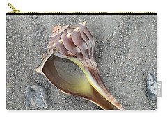 Whelk With Sand Carry-all Pouch