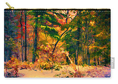 When Fall Becomes Winter Carry-all Pouch