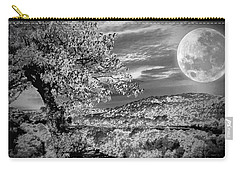 Carry-all Pouch featuring the photograph When The Moon Comes Over Da Mountain by Robert McCubbin