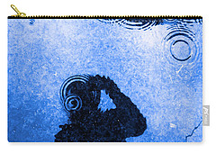 When The Rain Comes Carry-all Pouch by Robyn King