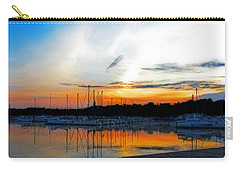 When The Sun Goes Down Carry-all Pouch by Susan  McMenamin