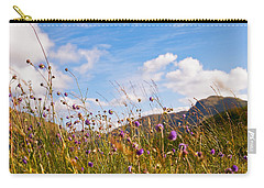 When The Sun Is Shining Everything Around Smiling Towards. Scotland Carry-all Pouch