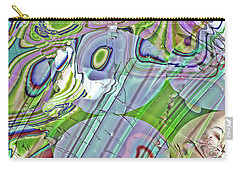 Carry-all Pouch featuring the digital art When Worlds Collide by Richard Thomas