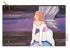 Carry-all Pouch featuring the painting When You Dream by Phyllis Kaltenbach