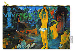Where Do We Come From. What Are We Doing. Where Are We Going Carry-all Pouch by Paul Gauguin