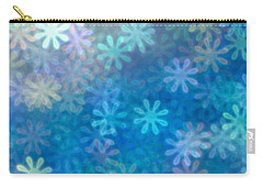 Where Have All The Flowers Gone Carry-all Pouch by Dazzle Zazz
