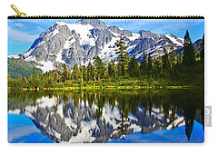 Carry-all Pouch featuring the photograph Where Is Up And Where Is Down by Eti Reid