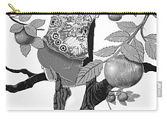 Carry-all Pouch featuring the digital art Where The Best Apples Are by Carol Jacobs
