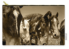 Whimsical Stallions Carry-all Pouch