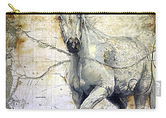 Whipsers Across The Steppe Carry-all Pouch