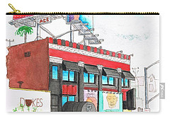 Whisky-a-go-go In West Hollywood - California Carry-all Pouch by Carlos G Groppa