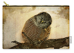 Whispered In The Sounds Of Silence Carry-all Pouch by Heather King