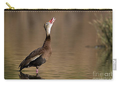 Whistling Duck Whistling Carry-all Pouch by Bryan Keil