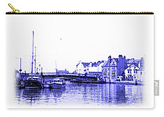 Carry-all Pouch featuring the photograph Whitby Harbor by Jane McIlroy