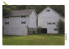 White Barns Carry-all Pouch by Fran Gallogly