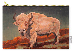White Buffalo Nocturne Carry-all Pouch