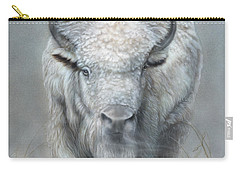 White Buffalo Carry-all Pouch