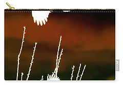 White Crow And The Bluejay Carry-all Pouch