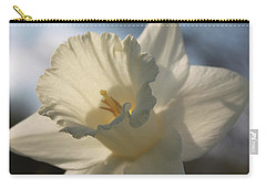 White Daffodil Carry-all Pouch