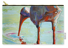 White Ibis  Everglades Bird  Carry-all Pouch