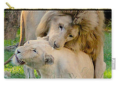 How About A Nibble My Love Carry-all Pouch by Venetia Featherstone-Witty