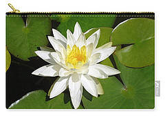 White Lotus 1 Carry-all Pouch