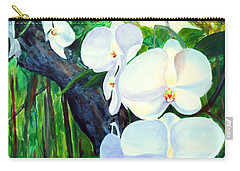 White Orchid's Carry-all Pouch
