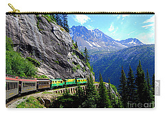White Pass And Yukon Route Railway In Canada Carry-all Pouch