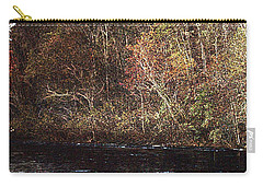 Carry-all Pouch featuring the photograph White River by Donna Smith