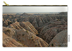White River Valley Overlook Badlands National Park Carry-all Pouch