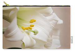 White Softness Carry-all Pouch