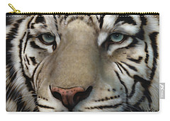 White Tiger - Up Close And Personal Carry-all Pouch