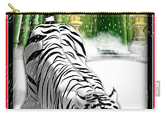White Tiger Guardian Carry-all Pouch