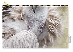 White Vulture  Carry-all Pouch