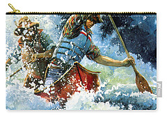 Carry-all Pouch featuring the painting White Water by Hanne Lore Koehler
