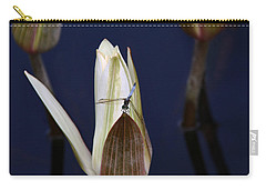 Under Careful Inspection Carry-all Pouch by Yvonne Wright
