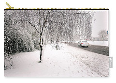 White World Carry-all Pouch