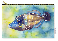 Whitespot Filefish Carry-all Pouch