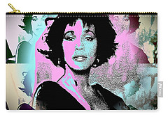 Whitney Houston Sing For Me Again Carry-all Pouch