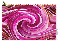 Who Dun It Twirls Carry-all Pouch by J McCombie
